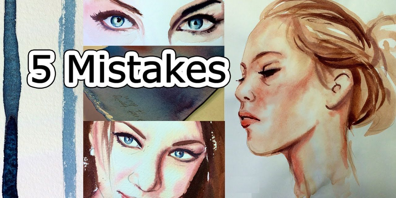Drawing A Portrait? Avoid These 2 Common Mistakes